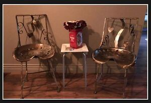 Tractor Seat chairs - Comfortable seating - art pieces -fcfs