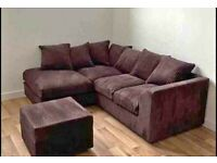 ✨GREAT OFFER✨NEW BYRON JUMBO CORD CORNER & 3+2 SOFA AVAILABLE✨CASH ON DELIVERY✨