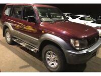 Toyota Landcruiser Colorado 8 seater uk model 5 speed manual cracking 4x4 bargain ready for winter