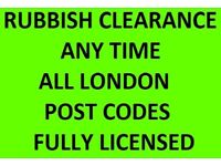 RUBBISH CLEARANCE 07961784261 ANYTIME CLEARANCE SOIL DISPOSAL