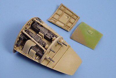 Aires 1/48 Messerschmitt Me262A Schwalbe Gun Bay for Dragon kit 4116/*