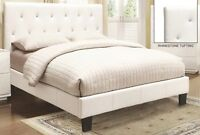 ★LORD SELKIRK FURNITURE★ GLITZ WHITE DOUBLE OR QUEEN ★ 26 SLATS