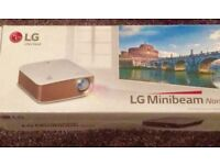 LG MiniBeam Projector brand new in box unwanted gift