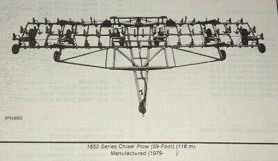 John Deere 1650 Chisel Plow Parts Catalog Manual Book Jd Original