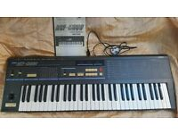 Korg DW6000 80s Synthesizer. Offers? vintage, 100% working order! Power cable and Manual.