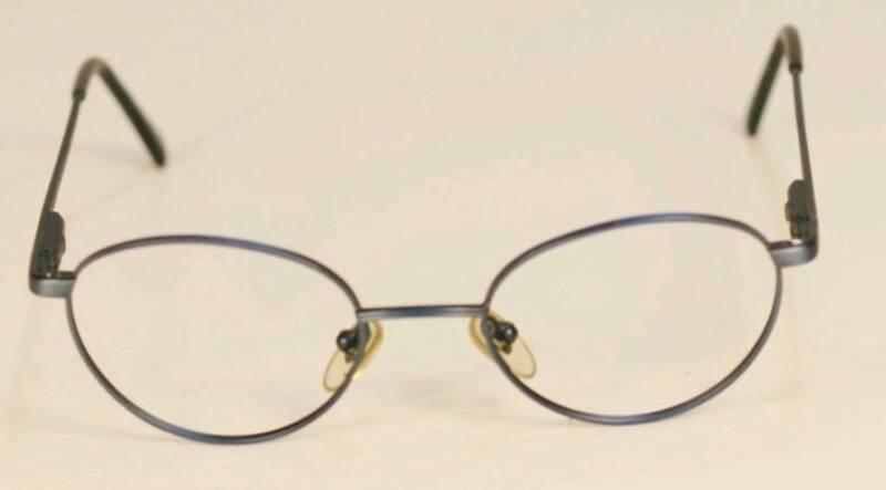 risparmia fino all'80% qualità e quantità assicurate grande selezione Fossil Brooke Blue Metal Eyeglasses Frame Stylish Design | eBay