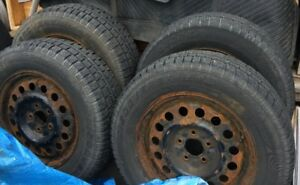 Winter Tires  215/70/R16 with rims