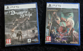 Demon Souls PS5 & Devil May Cry 5 Special Edition