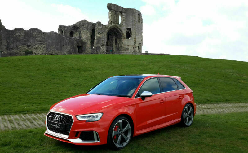 2018 18 Audi Rs3 Quattro In Catalunya Red Only 8 450 Miles By 1 Owner In Denbigh Denbighshire Gumtree