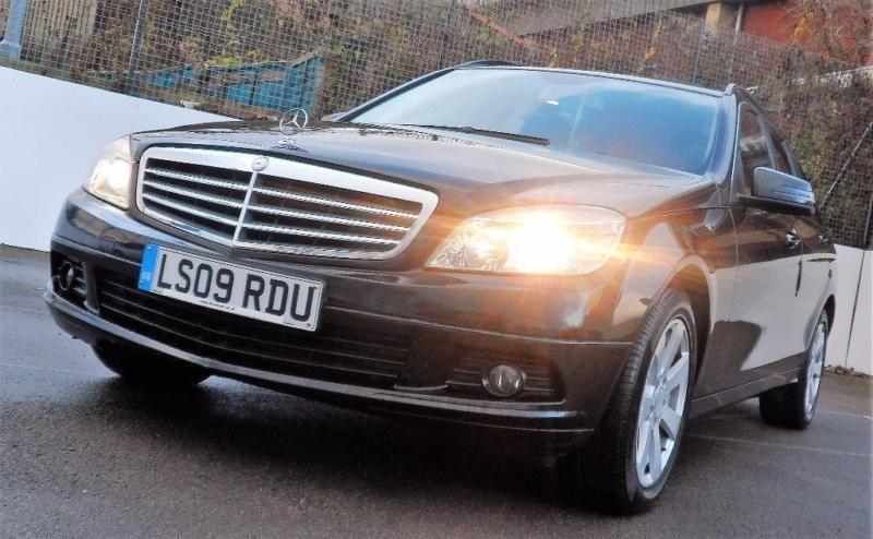 2009 mercedes benz c class 2 1 c200 cdi se 5dr in castleford west yorkshire gumtree. Black Bedroom Furniture Sets. Home Design Ideas
