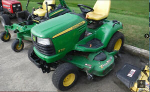 John Dere Ride-On Mower X720 ULTTurf 2WS