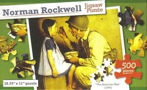 Norman Rockwell The American Way (1944) 500 Piece Puzzle