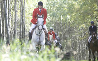 Calgary Hunt Club. Equine Cross Country Hunting