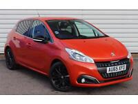 Peugeot 208 Allure 1.2 Petrol Manual 5 Door Orange 2015