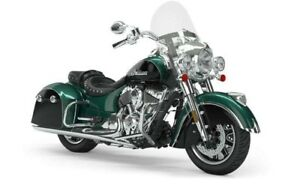 2019 Indian SPRINGFIELD METALLIC JADE THUNDER BLACK / 77$/sem