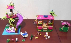 41038- LEGO Friends Jungle rescue base 100% complet