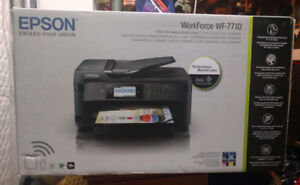 Epson WF-7710 Wide-format All-in-One Printer. New, still in box