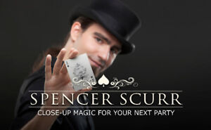 Spencer Scurr: Show & Strolling Magic for Adult & Family Parties
