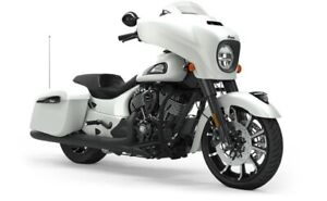 2019 Indian CHIEFTAIN DARK HORSE WHITE SMOKE