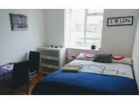 Short term double room let (Victoria/Pimlico)