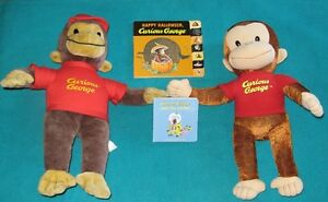 Curious George books and Curious George Stuffie