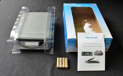 Nib 79.99 Brecknell 25lb 11.5kg Postal Scale Ps25 Wusb Cablebatteries