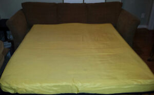 "SOFA BED. SIMMONS QUEEN SIZE 60"" BEAUTYREST MATTRESS. $300.00 St. John's Newfoundland image 4"