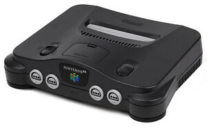 Nintendo 64 N64 console w/ 4 controllers