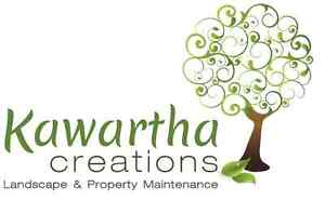 KAWARTHA CREATIONS; Eaves trough cleaning & Fall Clean-up Kawartha Lakes Peterborough Area image 1
