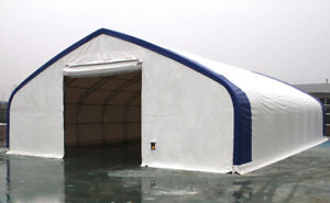 Temporary Fabric Storage Buildings