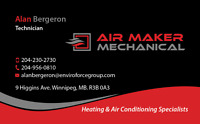 Air Maker Mechanical - Heating & Cooling Experts 204-230-2730