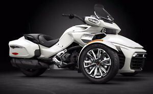 2016 Can Am Spyder F3-Ltd 1330 Triple / Brand New (White)