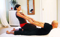 Thai massage available onTuesday and Sunday