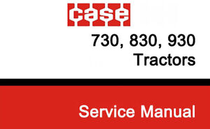 WANTED 930 case service manual