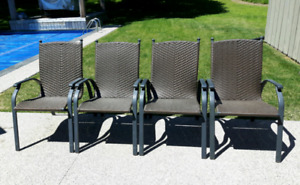 Aluminum Patio Chairs *Delivery Available*