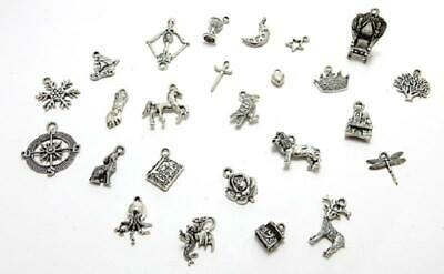 25 Assorted Game Of Thrones style tibetan silver charms for jewellery making](Jewelry Making Games)