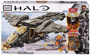 HALO Mega Bloks UNSC PELICAN (Lights and Sounds) # 97129