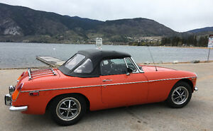 1974 MGB with BC Collector Status