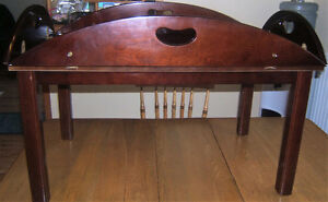 COFFEE TABLE/BUTLER TRAY FROM BOMBAY COMPANY
