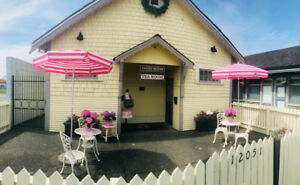 BOUTIQUE AFTERNOON TEA SHOP IN STEVESTON  $50,000