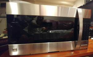 Microwave Hood Combination convection oven