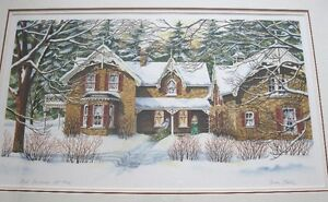FIRST CHRISTMAS By Carole Black  FRAMED