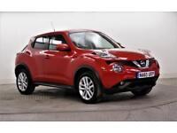 2016 Nissan Juke ACENTA DIG-T Petrol red Manual