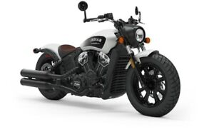 2019 Indian SCOUT BOBBER ABS WHITE SMOKE