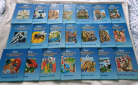 Disney The Wonderful World of Knowledge Childrens Books Set Collection