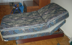 Remote Control Adjustable Twin Bed w/Massage