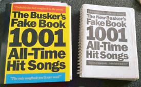 Buskers book, music, sheet music