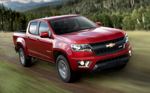 Chevy Colorado Joins Growing Field of Clean Diesel Pickup Trucks