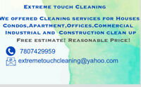 Cleaning services in Town with a reasonable Price!
