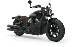 2019 Indian SCOUT BOBBER THUNDER BLACK / 44$/sem
